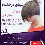 آموزش هیرکات موی زنانه